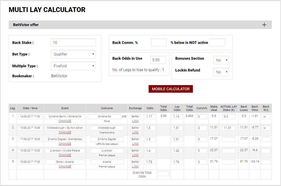 accumulator generator calculator