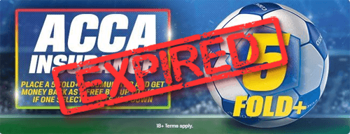 Coral acca insurance offer withdrawn