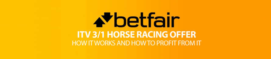 Betfair ITV 3/1 Racing Offer