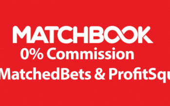 MatchedBets & ProfitSquad Members Get 0 % Commission at Matchbook