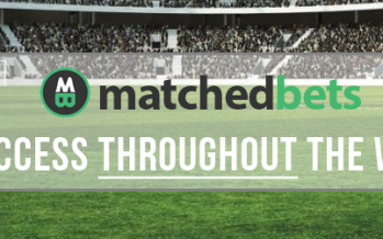MatchedBets.com Promo Code – £5 for 1 months access throughout the World Cup