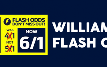 William Hill Flash Odds Boost – How to profit with matched betting