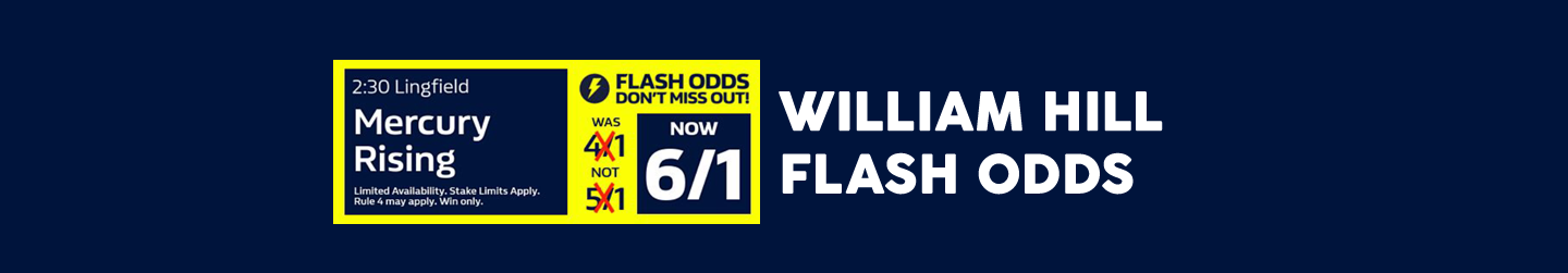 William Hill Flash Odds