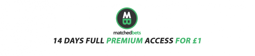 MatchedBets Free Trial Replaced by £1 for 14 days Premium