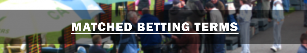 matched betting terms