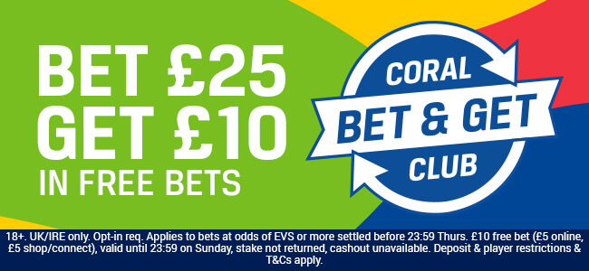 coral free bet club