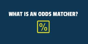 what is an odds matcher