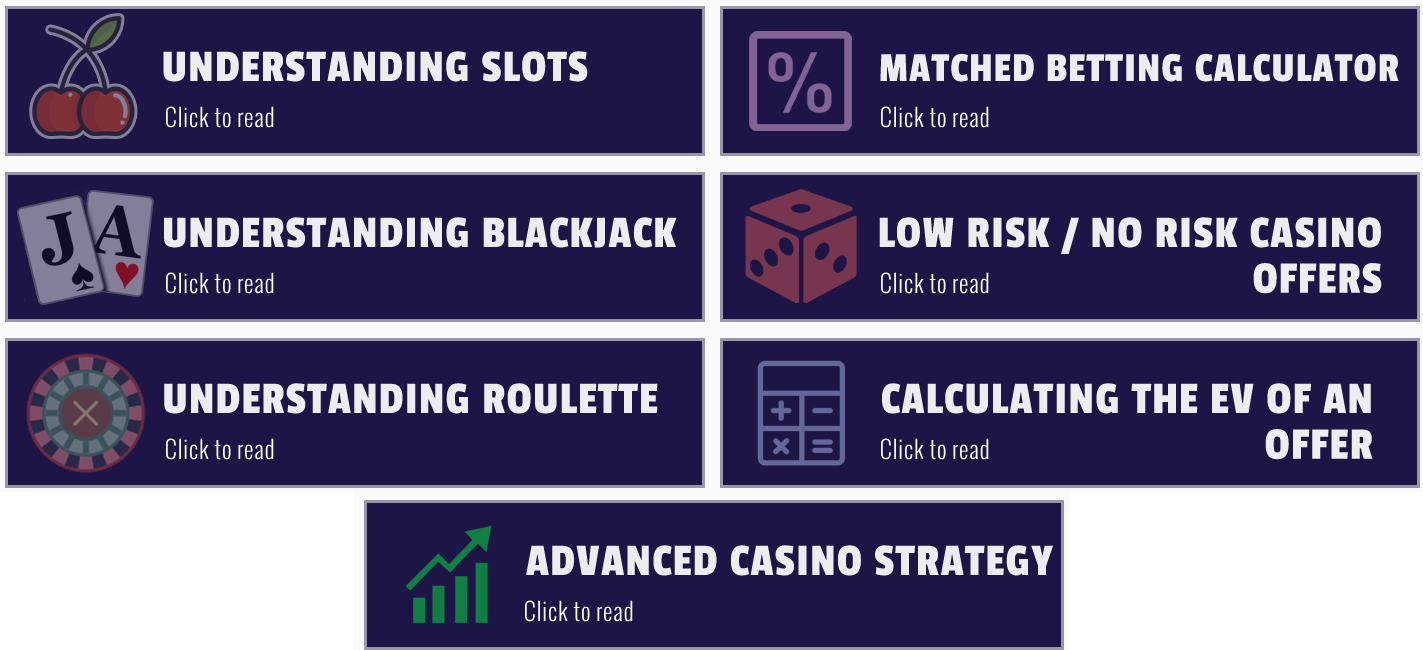 advanced casino training