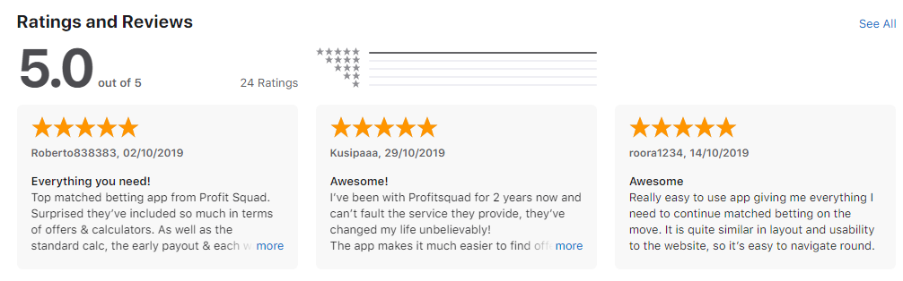 profit squad app reviews